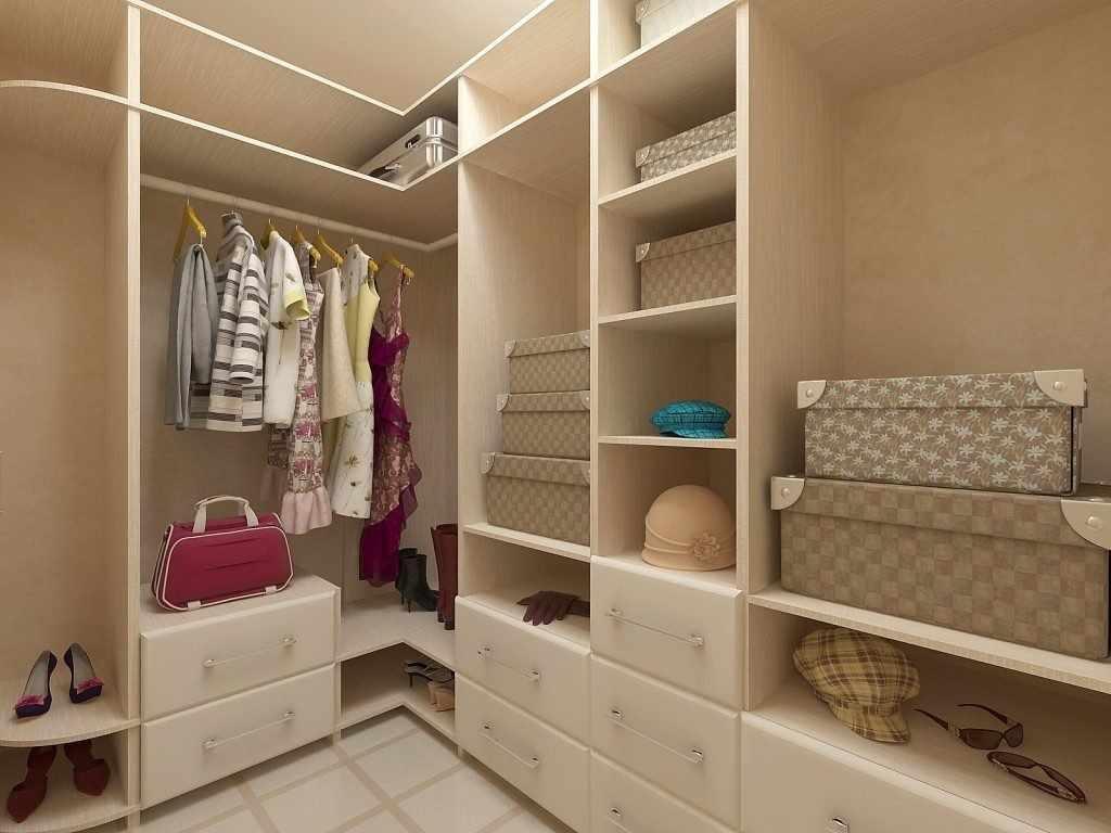 Системы хранения в гардеробной