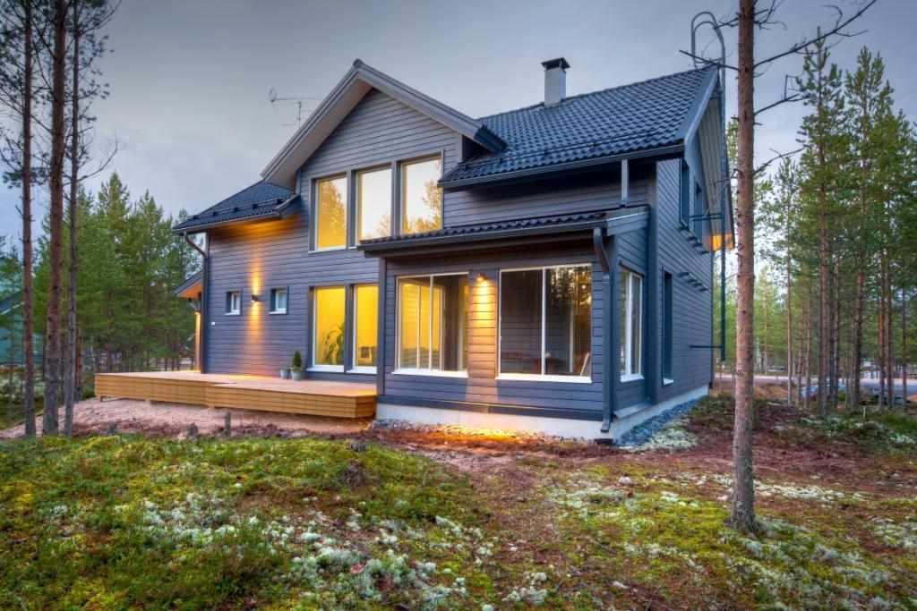 Каркасный скандинавский дом
