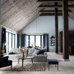 Уютная мансарда в норвежском стиле