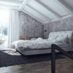 Спальня на втором этаже частного дома