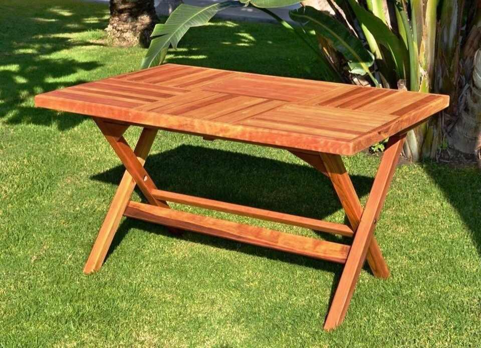 Самодельный раскладной стол