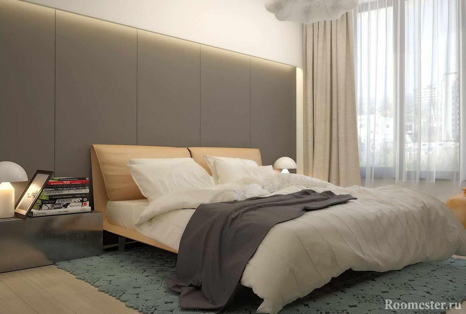 Интерьер в спальне