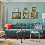 Картины над диваном