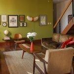 Гостиная с советской мебелью