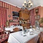 Винтажная гостиная в квартире