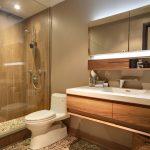 Мозаика на полу ванной