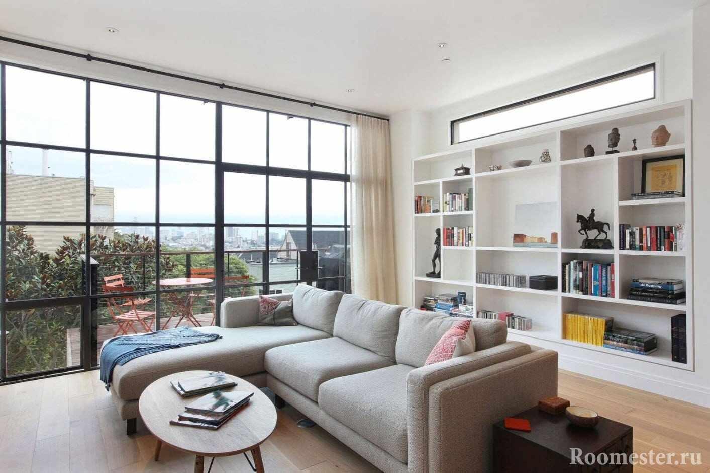 Панорамное остекление в современных апартаментах
