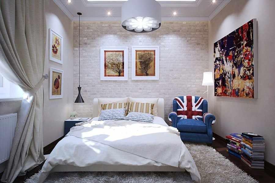 Небольшая спальня в квартире