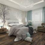 Красивый декор стен в комнате
