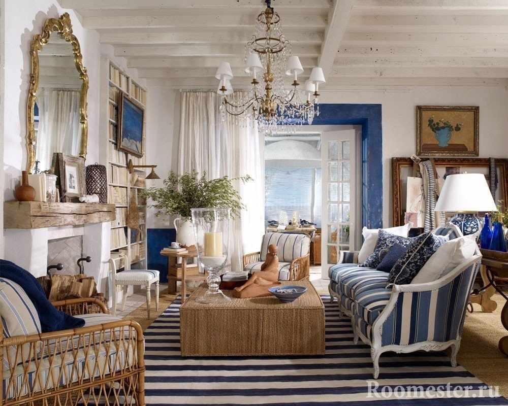 Комната с шикарной мебелью