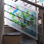 Роспись на стекле