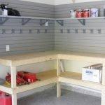 Угловой стеллаж для гаража