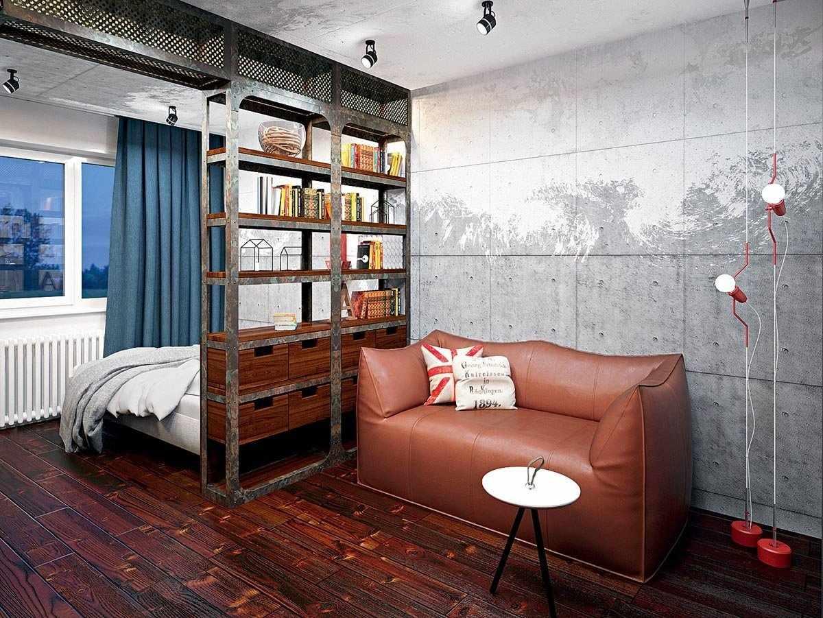 Квартира-студия декор