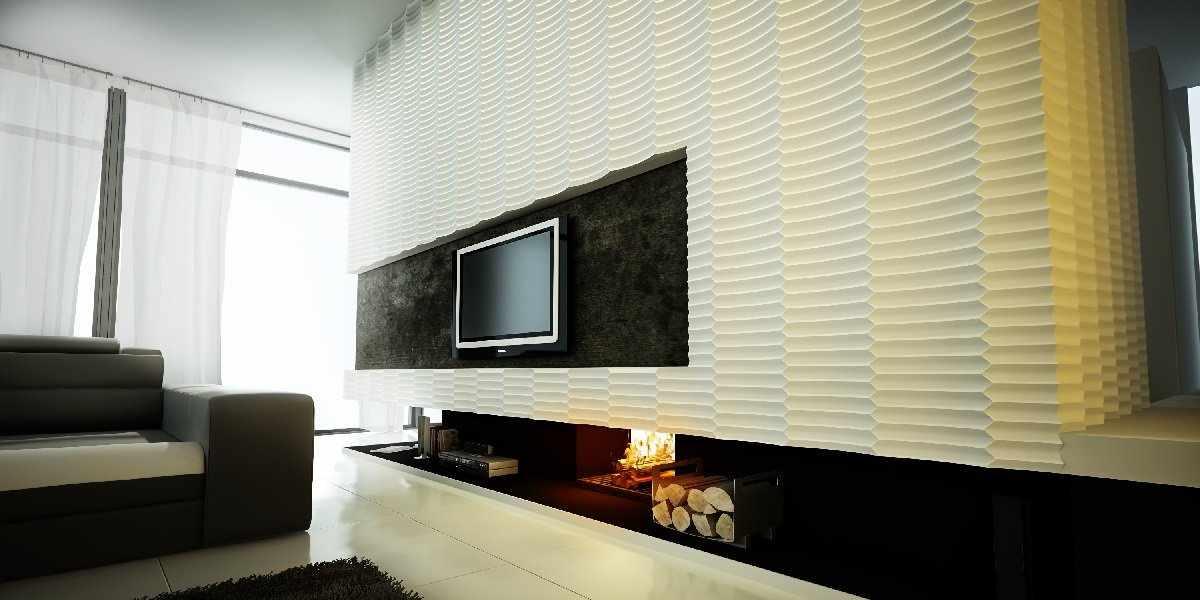 Стеновые панели из ПВХ в интерьере