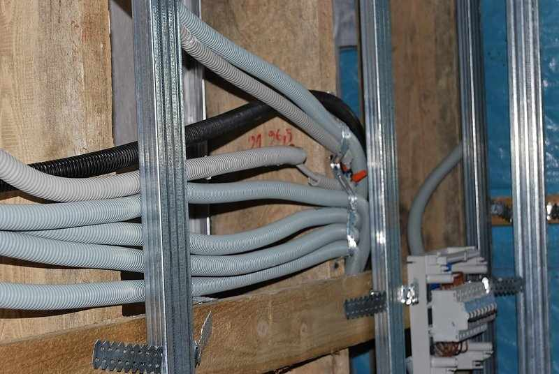Проводка кабелей