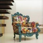 Кресло необычной расцветки