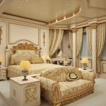 Спальня с шикарным интерьером