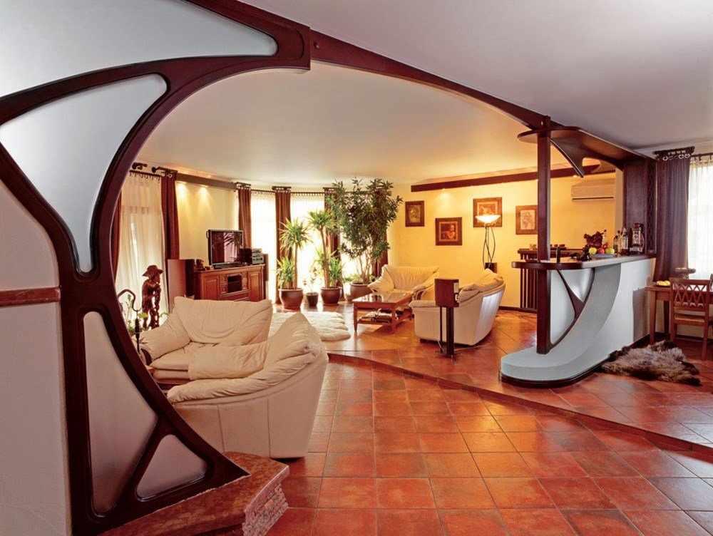 Оформление интерьера дома в стиле врт нуво