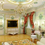 Дорогой интерьер комнаты