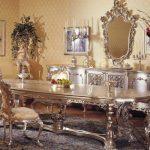 Комната с серебристой мебелью