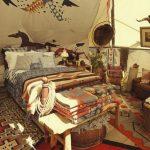 Спальня с ковбойским интерьером