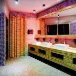 Китч в дизайне ванной