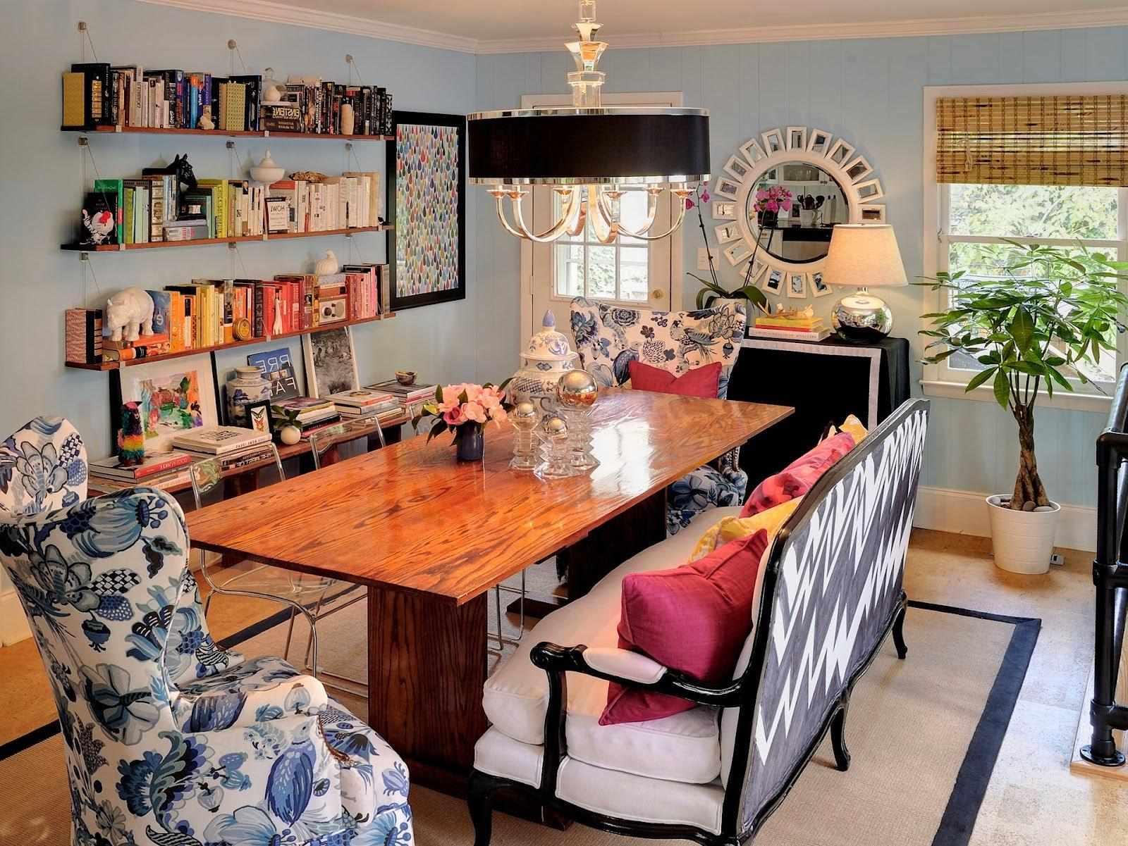 Китч в интерьере небольшой кухни