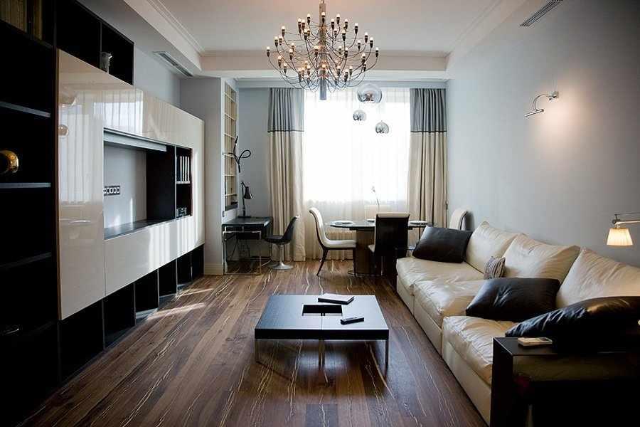 Интерьер квартиры в стиле контемпорари