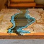 Река на столешнице