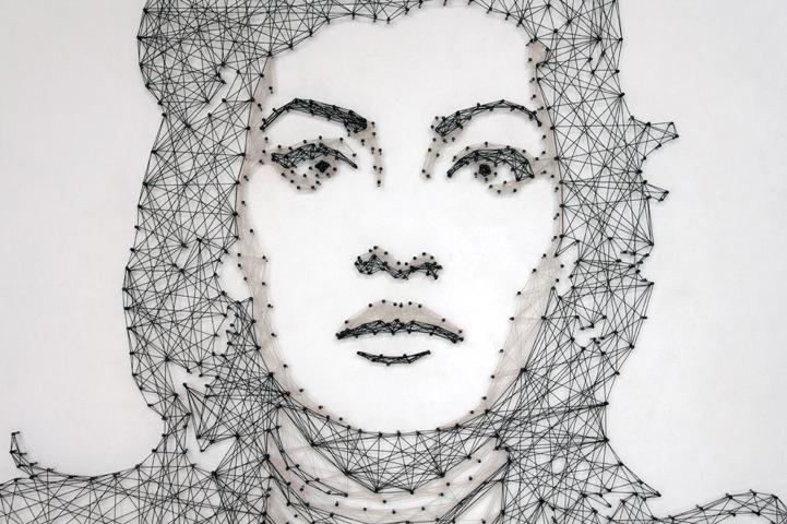 Стринг-арт портрет