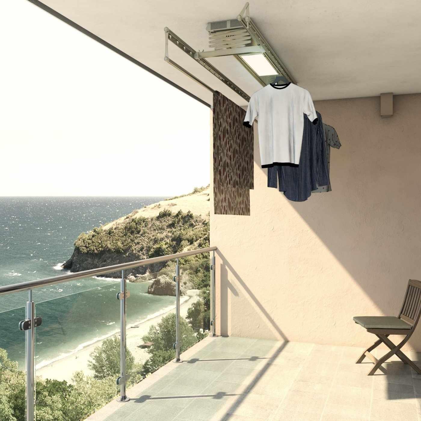 Критерии выбора сушилок на балкон
