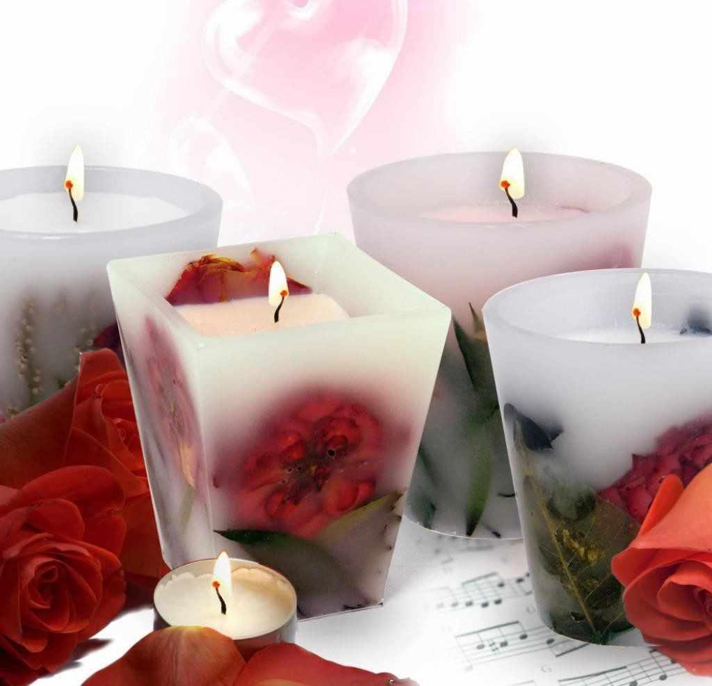 Свечи из парафина