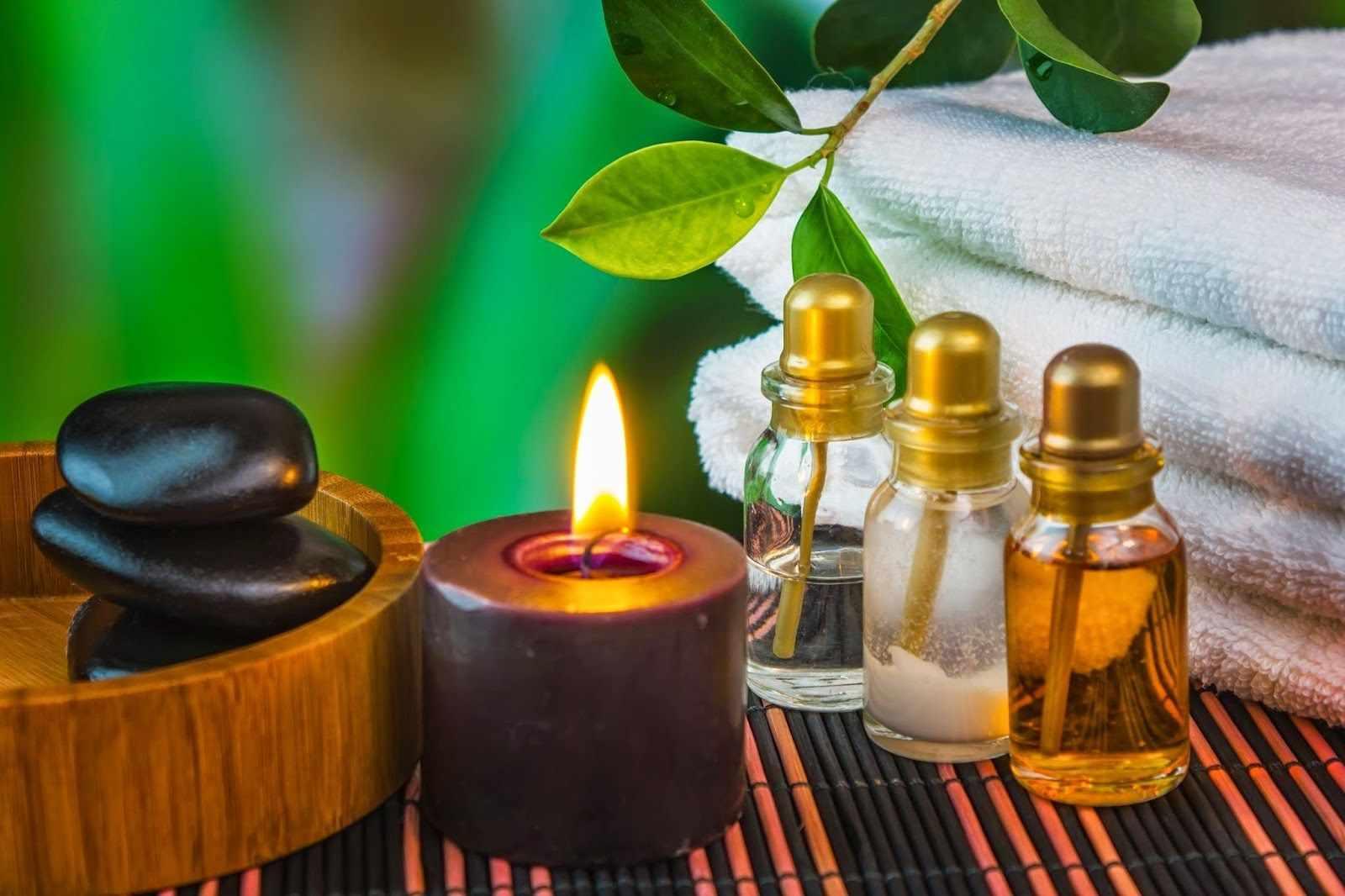 Эфирные масла для свечей