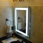 Подсветка на зеркале