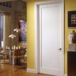 Желтая стена в интерьере
