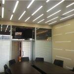 LED-освещение в зале заседания