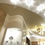 Диодные светильники на потолке