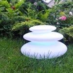 Ландшафтный светильник в виде камней