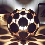 Светодиодный светильник в форме шара