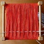 Протягиваем сквозь основное плетение