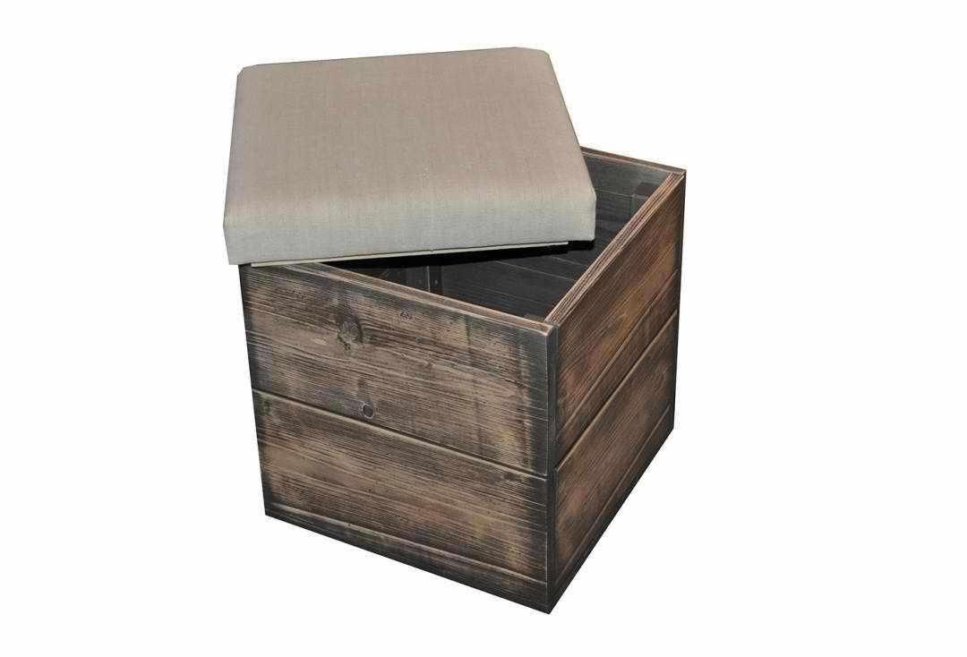 Табурет-ящик