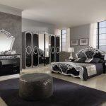 Роскошный дизайн мебели в темных тонах
