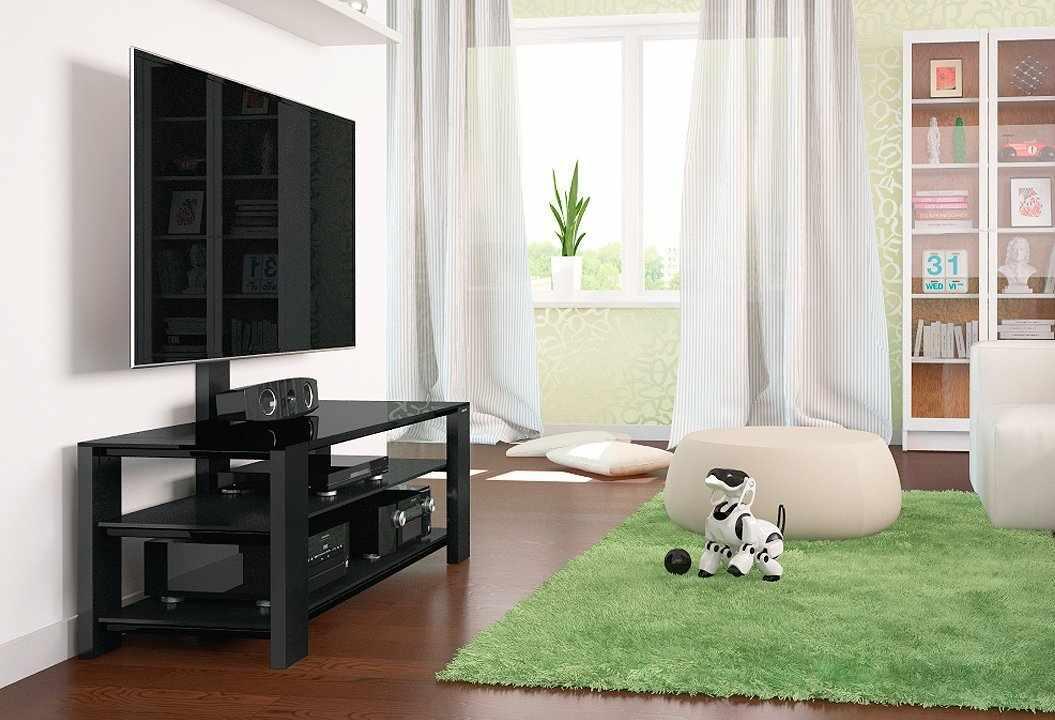 Тумба под телевизор с кронштейном