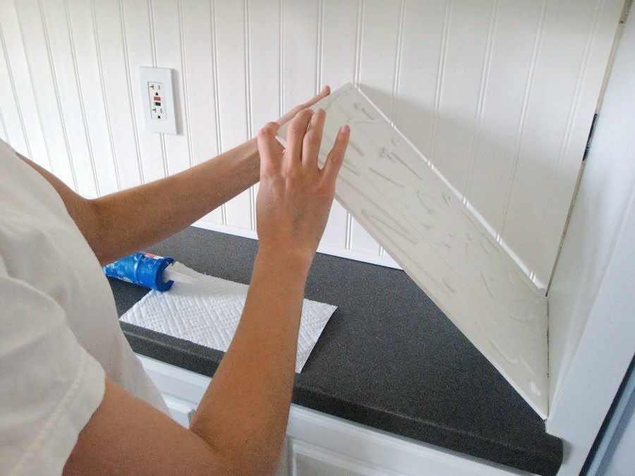 Установка пластиковых панелей