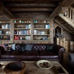 Книжный шкаф в зале