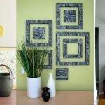 Элементы декора интерьера ручной работы