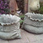 Вазоны в форме мешков