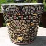 Отделка битой керамикой