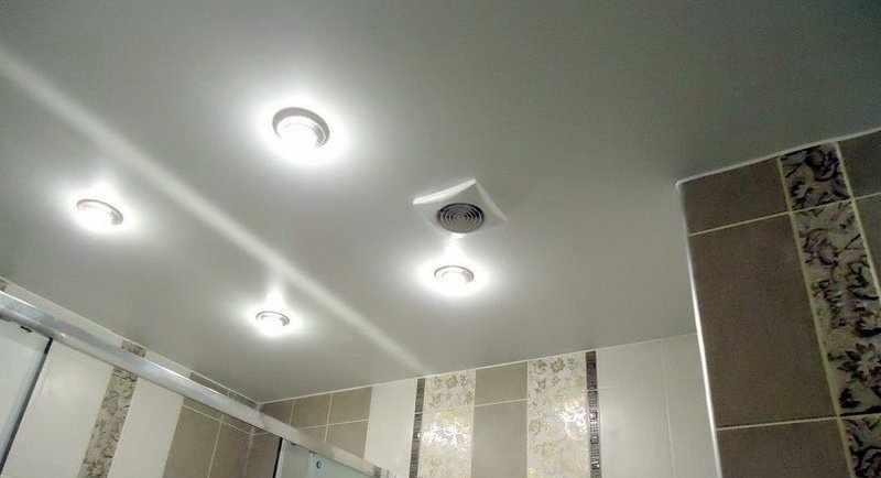 Эксплуатация вытяжной системы в ванной
