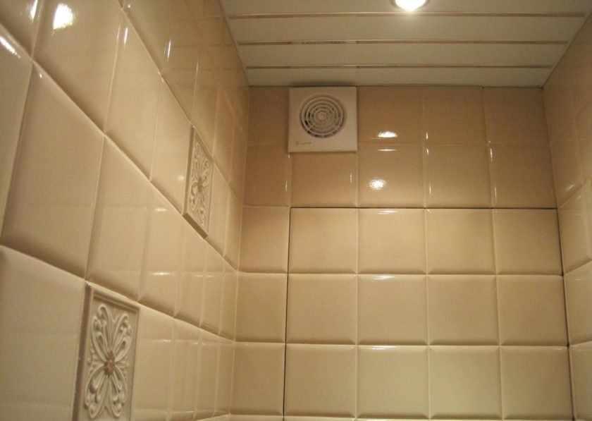 Ванная с искусственной вентиляцией
